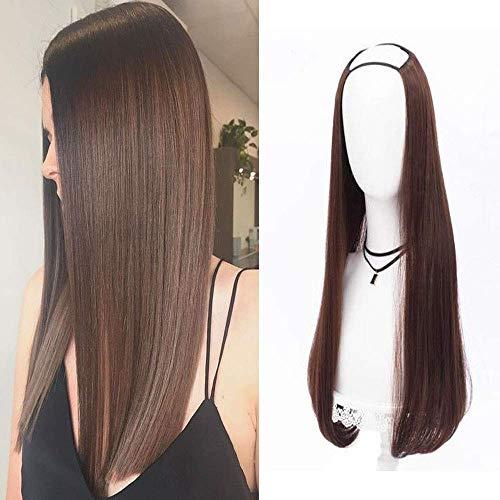 Ugeat U Part Wigs for Women Glueless 100% Remy 24