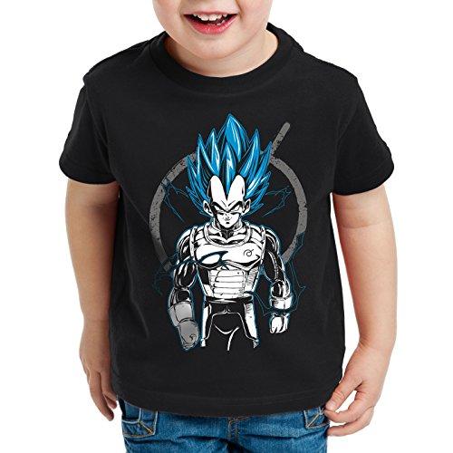 style3 Vegeta Contender T-Shirt für Kinder, Größe:104