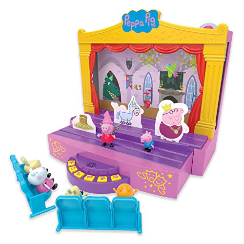 Peppa Pig- PEPPA'S Stage PLAYSET JUEGO DE PEPA'S ETE, Multicolor (Character Options 6964) , color/modelo surtido