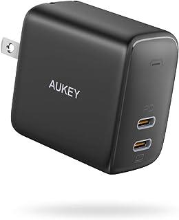 充電器 AUKEY オーキー Swift Duo 40W ブラック / ホワイト スマホ ノートパソコン PA-R2S iPhone 12 / 12 Pro / 12 Pro Max /12 Mini MagSafe対応 USB-C タイプC ...