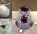 10000Stk Deko-Diamanten 6mm Farblos Absofine Diamantkristalle Transparent Kristall Dekosteine Tischdeko Diamanten Streudeko Hochzeit Dekoration - 5