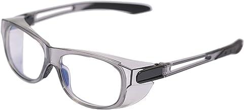 نظارات أمان رمادية UV400 حماية ضد حبوب اللقاح الأزرق ضوء حجب الرياح نظارات ركوب الدراجات للنساء الرجال مع دروع جانبية
