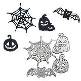 Pochoir Halloween en forme de citrouille, toile d'araignée, fantôme Specter, pochoir pour scrapbooking,...
