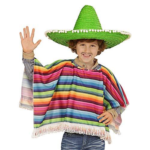 WIDMANN Poncho mejicano multicolor para nio
