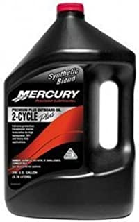 MERCURY Genuine Premium Plus 2-Stroke Synthetic Blend Oil Gal - 858027K01