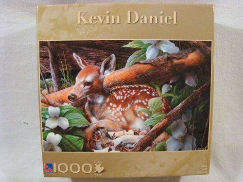 Kevin Daniel 1000 Piece Jigsaw Puzzle: Fawn