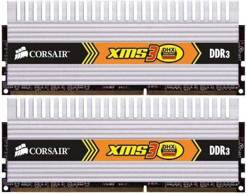 Corsair XMS3 4GB (2x2GB) DDR3 1333 MHz (PC3 10666) Desktop Memory 1.5V