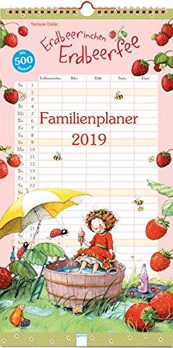 Erdbeerinchen Erdbeerfee. Familienplaner 2019