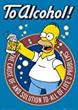 GB eye Maxi-Poster The Simpsons, to Alcohol, 61 x 91,5 cm