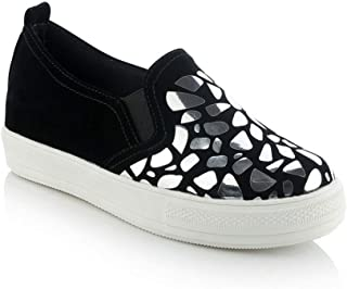 BalaMasa Womens APL12412 Pu Platform Heels