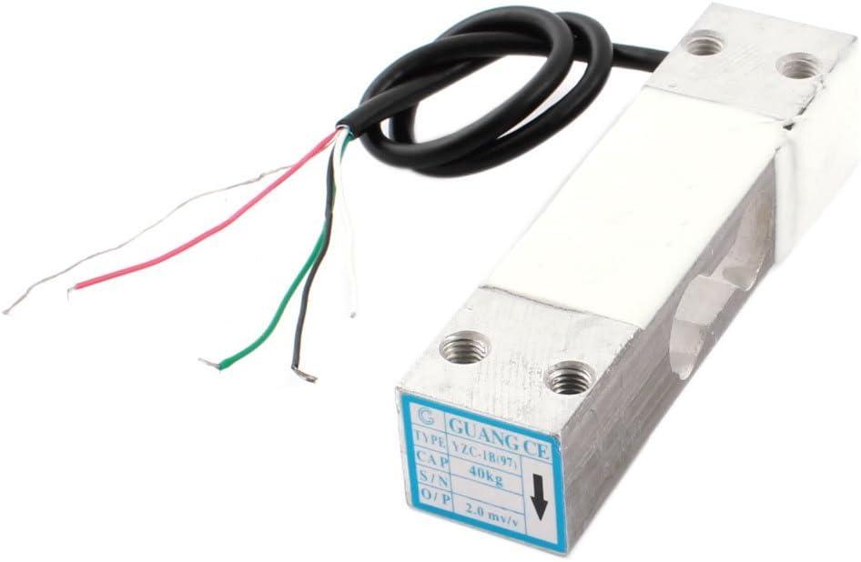 Sensor de peso de celda de carga de aleación de aluminio para báscula electrónica, 40 kg para báscula de cocina, báscula de baño para el cuerpo humano, báscula para joyería