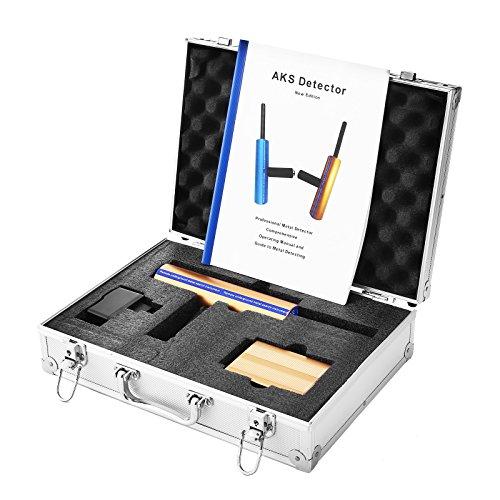 Cueffer 12V Aks Detector de Metales 1000M Detector de Metales Detector de Oro Detector de Metales de Alta Sensibilidad Detector de Profundidad