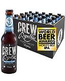 CREW REPUBLIC® Drunken Sailor-Cerveza Artesanal India Pale Ale | Ganadora del premio'The World Beer Awards' Mejor IPA del mundo 2020 | Elaborada en Baviera según la ley de pureza alemana (20 x 0,33l)