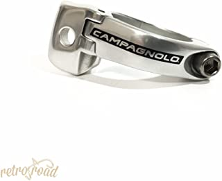 Campagnolo F-derail (braze-on) band clamp, 31.8mm - sil