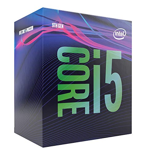 Intel Core i5-9400 Desktop Processor 6 Cores up to 4.1 GHz Turbo LGA1151 300 Series 65W Processors BX80684I59400