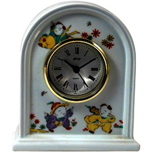 灰皿 : 有田焼 唐子 ドーム型時計