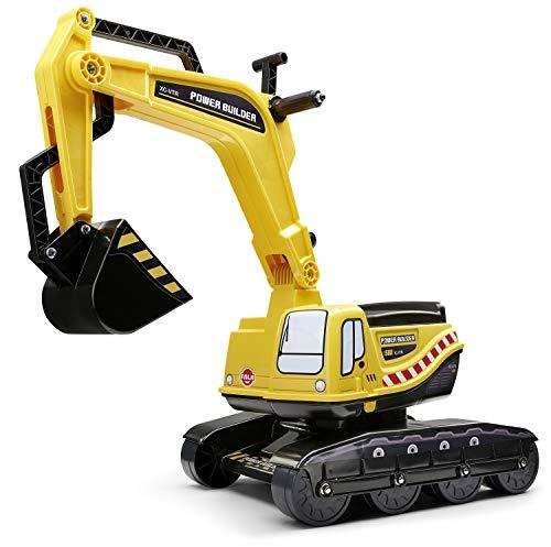 FALK Power Builder – Pala giratoria – Asiento abatible – Placa de matrícula personalizable – 120