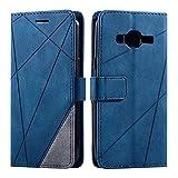 Galaxy J3 2015 / Galaxy J3 2016 Case, SONWO Premium Leather