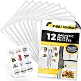 Magnetic Picture Frames for Refrigerator 4x6 inch – Magnetic Photo Frames for Fridge – Picture Frames for Photo Magnets – Picture Magnets for Refrigerator