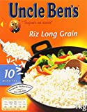 UNCLE BEN'S Riz Long Grain  Cuisson rapide 10 Minutes Vrac 1 kg
