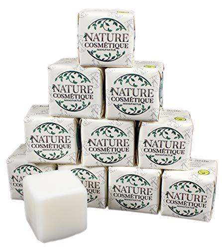 Bio Kokos Seife 10er Pack - kaltgerührt, 8% rückfettend,120g