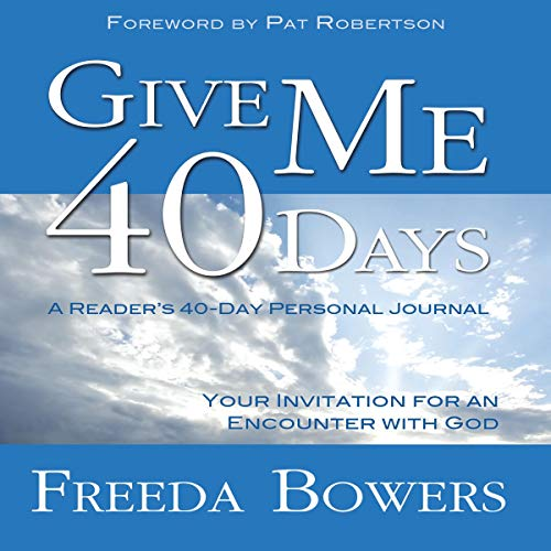 Give Me 40 Days audiobook cover art