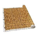 LBYDXD Persiana Bambu Exterior - Persianas De Caña, Estores Enrollables - Decoración Interior/Exterior, Aislamiento...