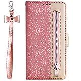 Vepbk pour Samsung Galaxy Note 10 Coque, Etui Flip Case Housse Coque Portefeuille Cuir avec...