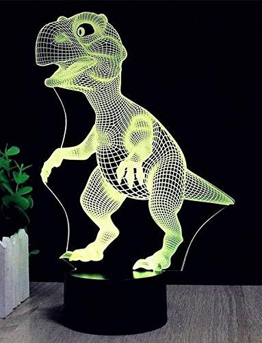 3D Unicorn/Dinosaur Colour Changing Led Night Light