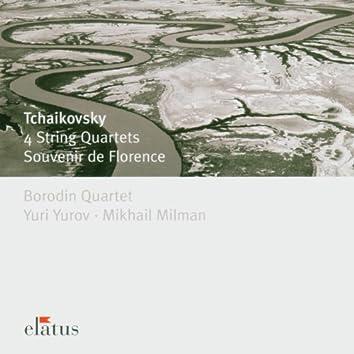 Tchaikovsky : 4 String Quartets & Souvenir de Florence  -  Elatus