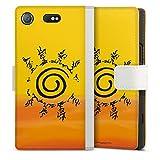 DeinDesign Étui Compatible avec Sony Xperia XZ1 Compact Étui Folio Étui magnétique Naruto...