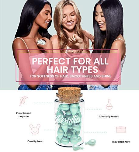 Beauty Shopping Keratin Hair Treatment Oil   Made in Italy No Sulfate Serum Vitamin B5 & Amino