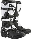 Alpinestars Men's Tech 3 Motocross Boot, Black/White, 11