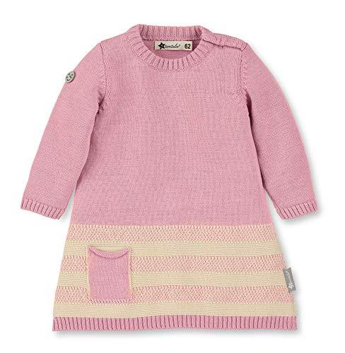 Sterntaler Strick-Kleid für Mädchen mit langen Ärmeln, Alter: 12-18 Monate, Größe: 86, Rosa, 5731970