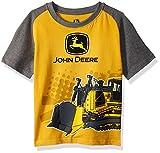 John Deere Boys' Little Tee Shirt, Construction Yellow, 5