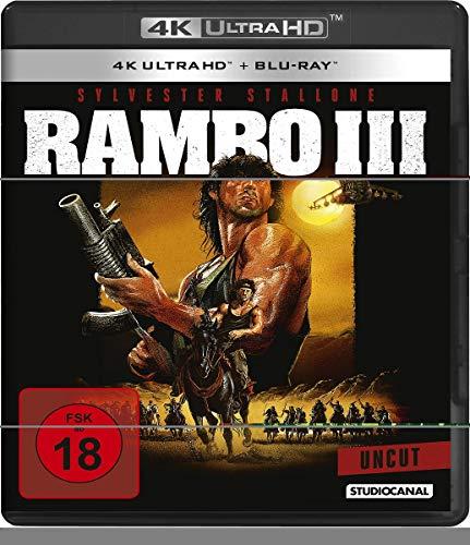 Rambo III / Uncut (4K Ultra HD) [Blu-ray]