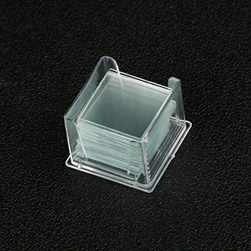 Pre-Cleaned 18x18mm Square Microscope Glass Cover Slips for Microscope Slides (100pcs /Box, 10 Boxes Pack)