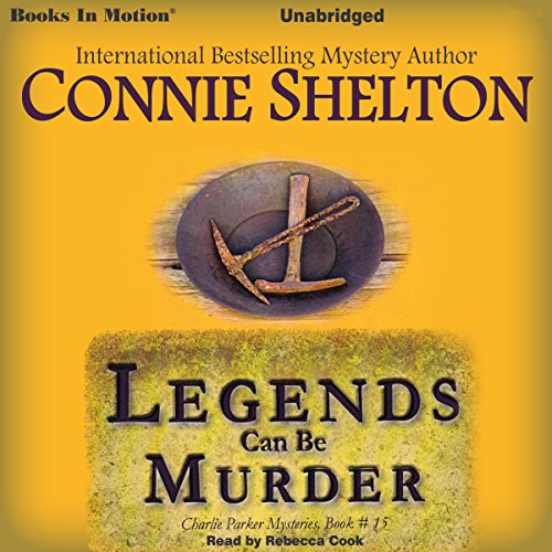 Legends Can Be Murder audiobook cover art