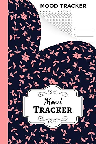 Mood Tracker: Journal / Book / Self Care Planner / Tracking Calendar / Notebook / Diary / Workbook