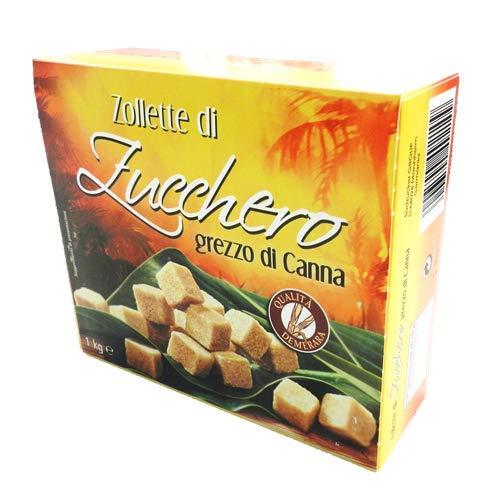 1Kg Zucchero Di Canna In Zollette