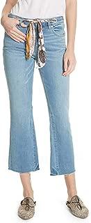 Free People Women's Belt Out Crop Bootcut Jeans