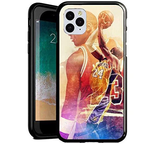 DM Compatible con iPhone 6 Plus/iPhone 6s Plus Funda, Cubierta Trasera de Cristal Templado + Marco de TPU Carcasa híbrida a Prueba y arañazos Funda iPhone 6 Plus/iPhone 6s Plus [MGU700011]