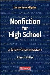 Nonfiction for High School: A Sentence-Composing Approach by Don Killgallon (2015-03-13)