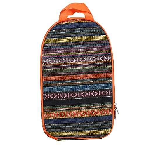 Bolsa de almacenamiento de utensilios de cocina para barbacoa, múltiples compartimentos Bolsa de almacenamiento de utensilios de cocina portátil sólida para playas para acampar para picnics(color)