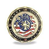 Saint Florian Patron of Firefighter Challenge Coin Gift For Fireman