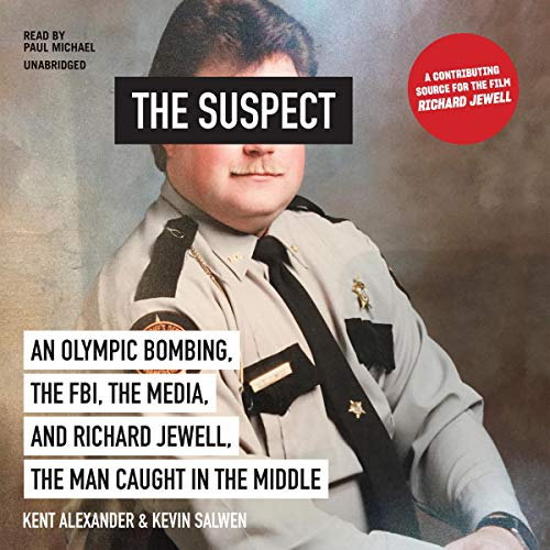 The Suspect Audiobook By Kent Alexander, Kevin Salwen cover art