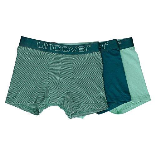 Schiesser Jungen Boxershorts 3Pack Shorts, 3er Pack, Mehrfarbig (Sortiert 1 901), 164 (Herstellergröße M)
