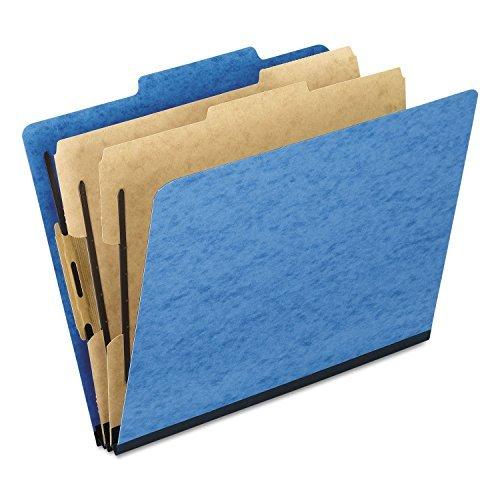 Pendaflex Pressguard Classification Folders, Ltr, 6 sezioni, azzurro, 10 per scatola (570,2 kg) by Pendaflex
