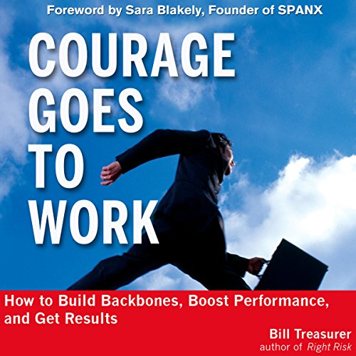 Courage Goes to Work audiobook cover art