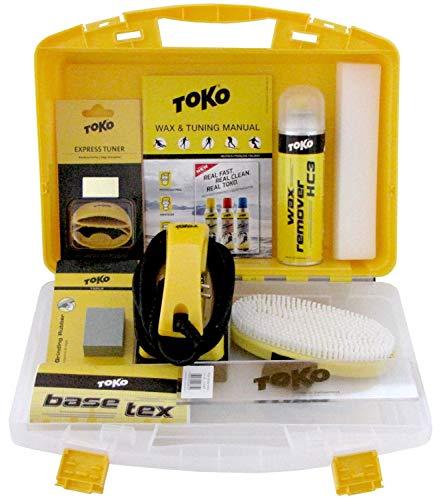 TOKO Snowboard-Service-Set Wax Case Board - 11-teilig